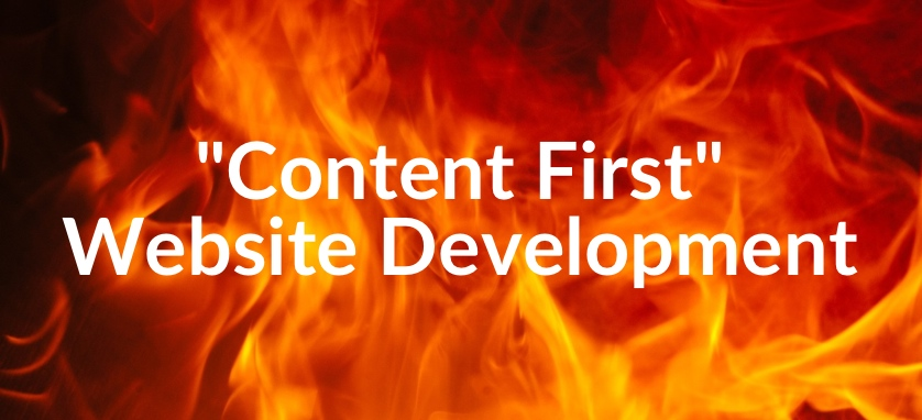 """Content First"" Approach to Website Development"
