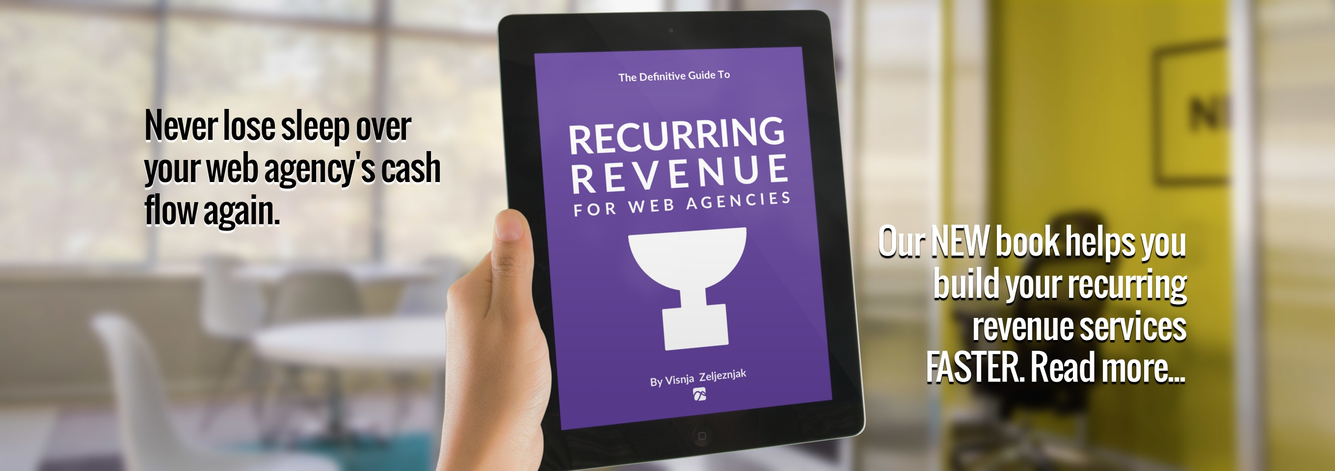 Recurring Revenue for Web Agencies - the Book by Visnja Zeljeznjak, Simpfinity.com
