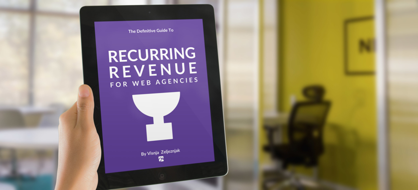 Simpfinity's First Book: Recurring Revenue for Web Agencies