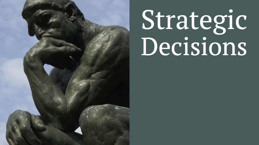 Thinker - strategic decisions
